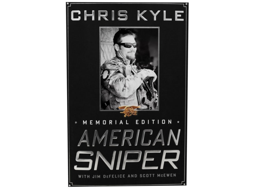 """American Sniper: The Autobiography of the Most Lethal Sniper in U.S. Military History""..."