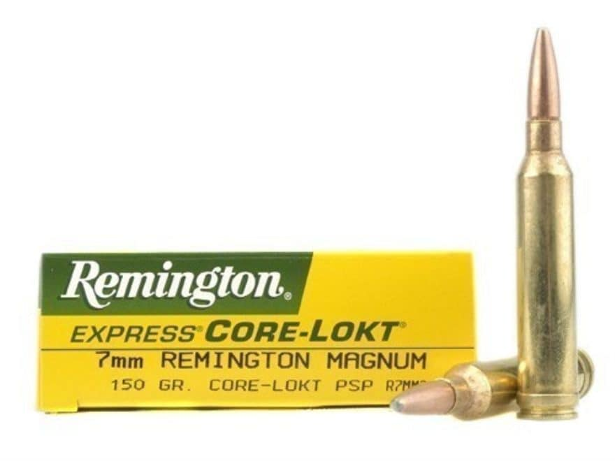 Remington Express Ammo 7mm Mag 150 Grain Core Lokt Pointed