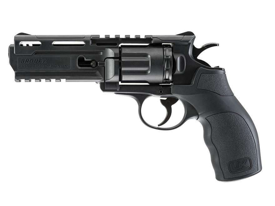 Umarex Brodax Air Pistol 177 Caliber BB Rubber Grip Black