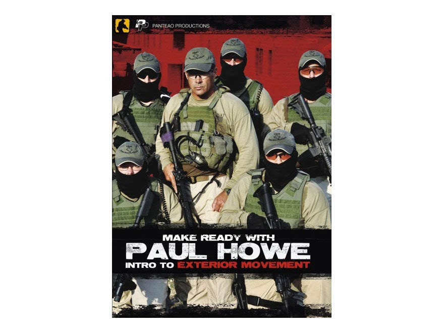 """Panteao """"Make Ready with Paul Howe: Intro to Exterior Movement"""" DVD"""
