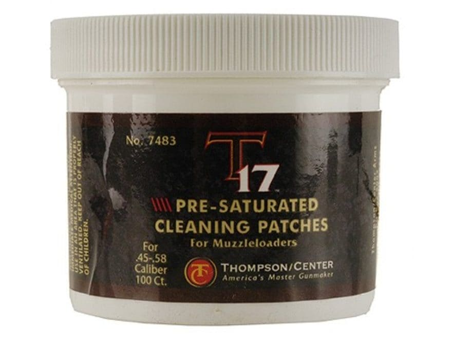 Thompson Center T17 Black Powder Cleaning Patches