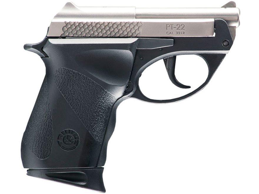 "Taurus PT-22 Pistol 22 Long Rifle 2.8"" Barrel 8-Round Black Polymer Frame"