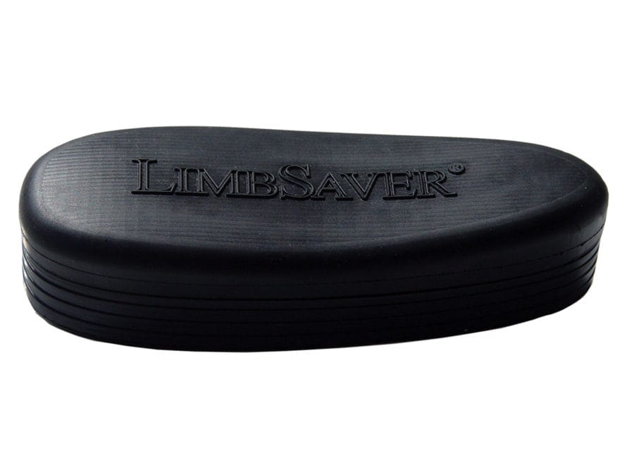 "Limbsaver Recoil Pad Snap-On AR-15 Universal 6 Position 1/4"" Step-Down Rubber"