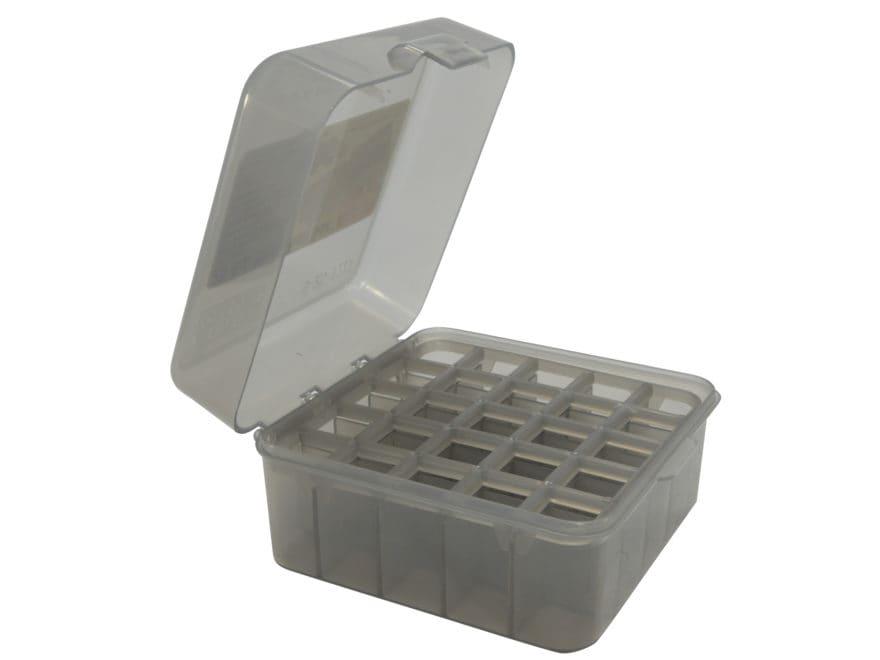 "MTM Dual Gauge Flip-Top Shotshell Box 12 or 20 Gauge 2-3/4"" and 3"" 25-Round Plastic"