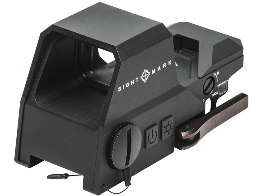 Sightmark Ultra Shot R-Spec Reflex Sight 1x Selectable Reticle with Quick Detachable We...