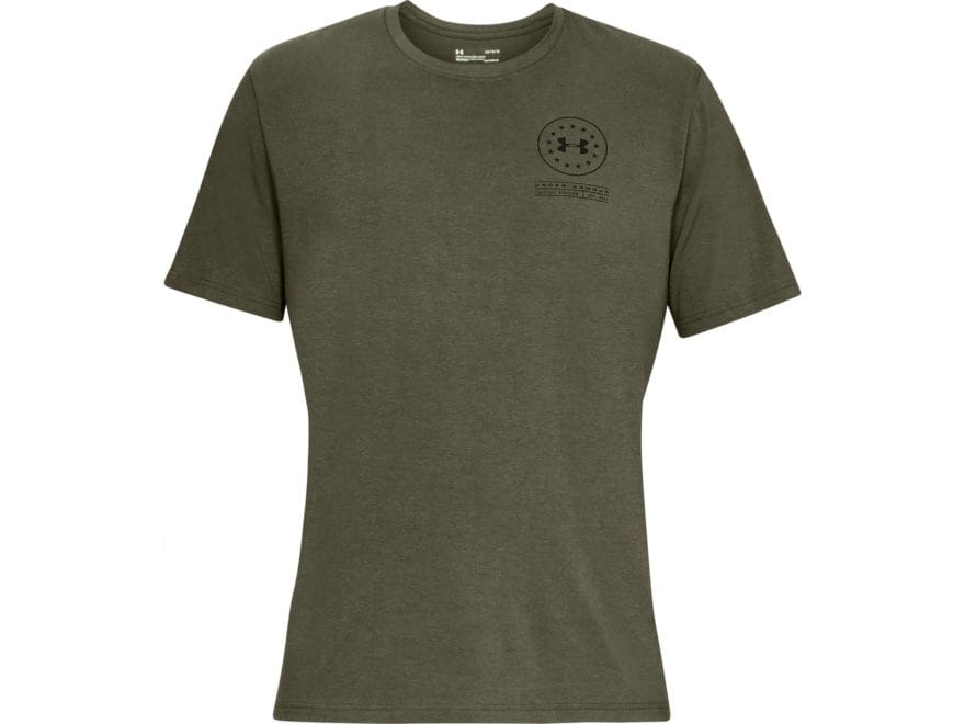 Under Armour Men's UA Freedom Tactical Division T-Shirt Short Sleeve Charged Cotton