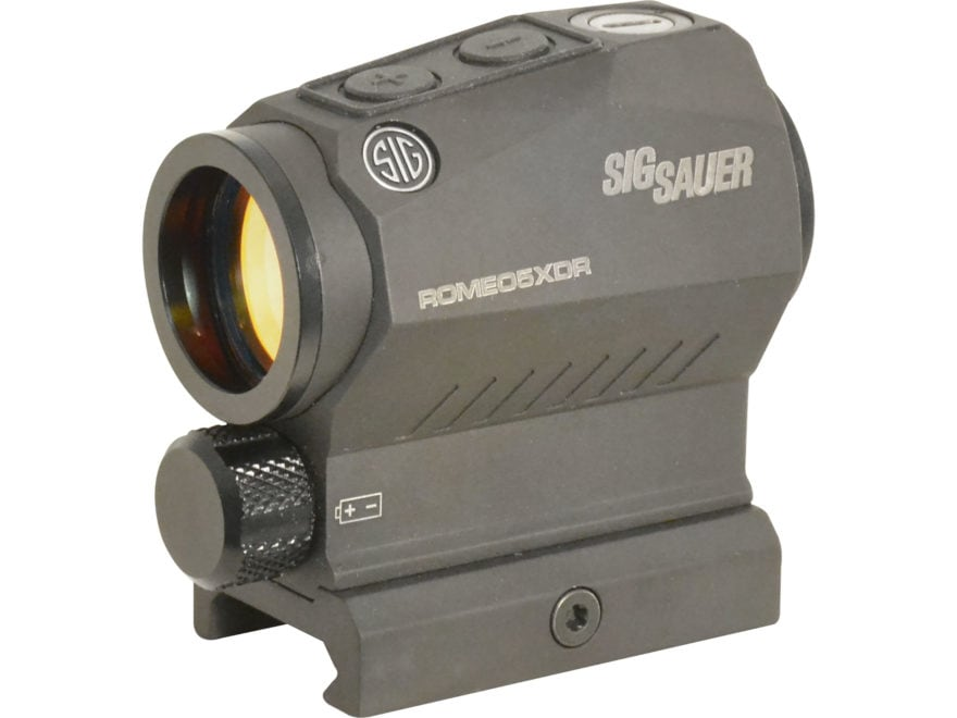 Sig Sauer ROMEO5 XDR Compact Red Dot Sight 1x20mm 1/2 MOA Adjustments 65 MOA Circle wit...