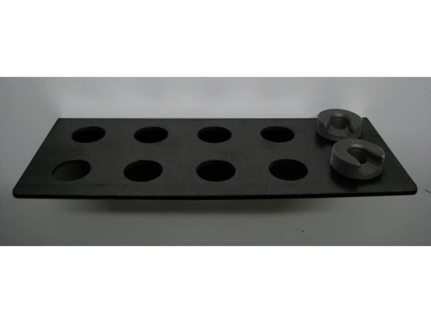 Inline Fabrication Shellholder Rack Black