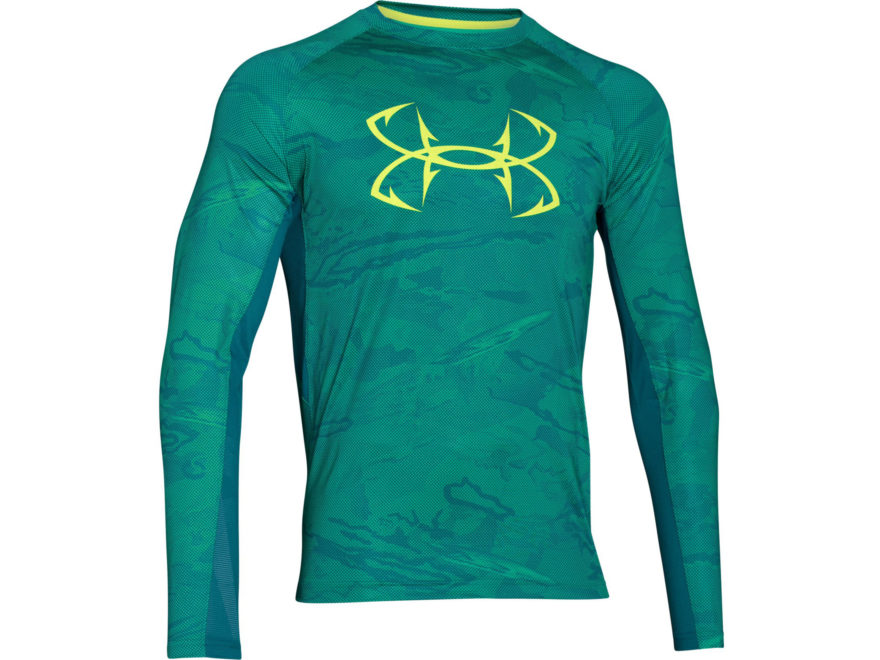Under armour men 39 s ua coolswitch thermocline shirt upc for Teal under armour shirt