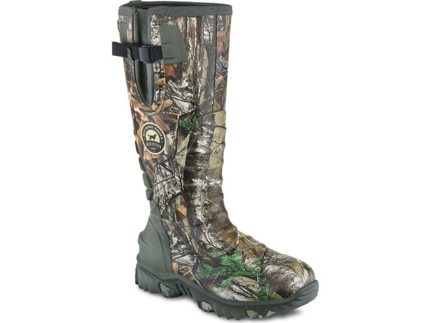 "Irish Setter Rutmaster 2.0 17"" Waterproof 800 Gram Insulated Hunting Boots Rubber Clad ..."