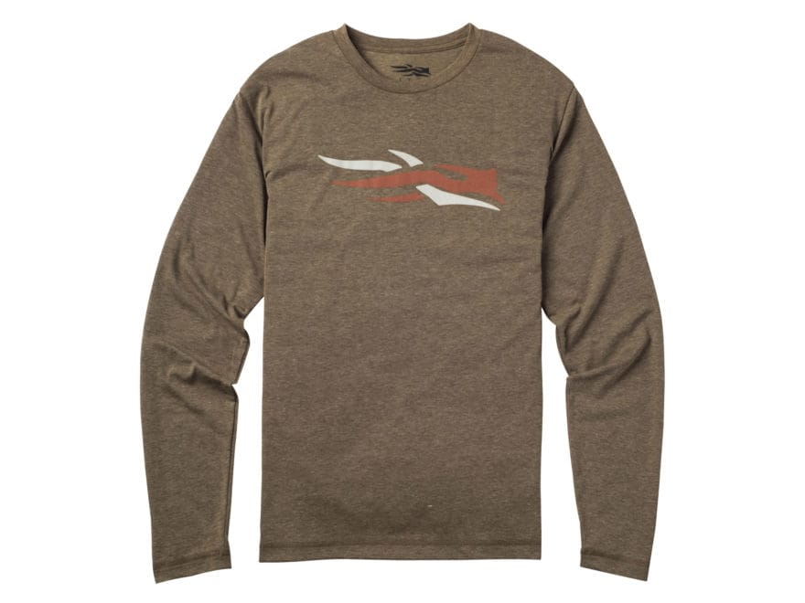 Sitka Gear Men's Logo Shirt Long Sleeve Polyester/Cotton