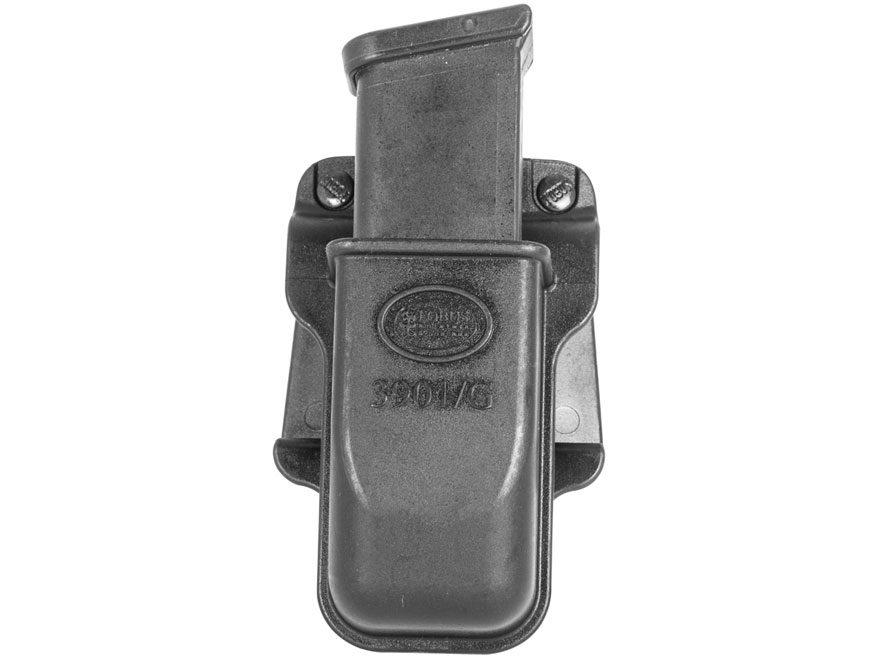 Fobus Belt Single Ambidextrous Magazine Pouch Single Stack Glock 45 ACP, FN FNP 45, H&K...