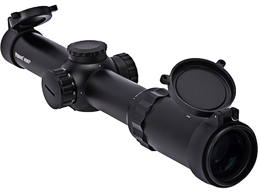 Primary Arms 1-4x 24mm Rifle Scope 30mm Tube 1/2 MOA Adjustment Illuminated Duplex Dot ...