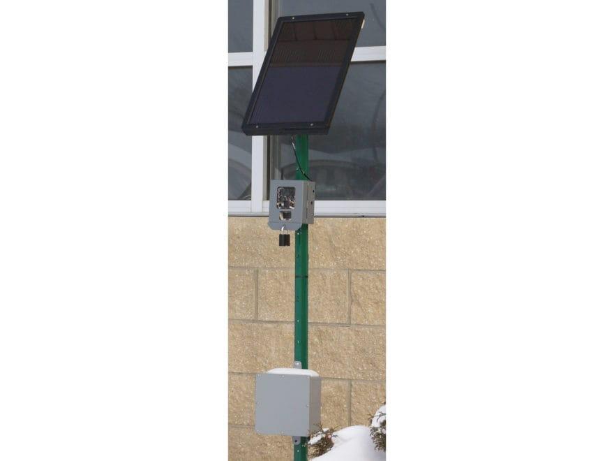 Reconyx Game Camera Solar Panel Black