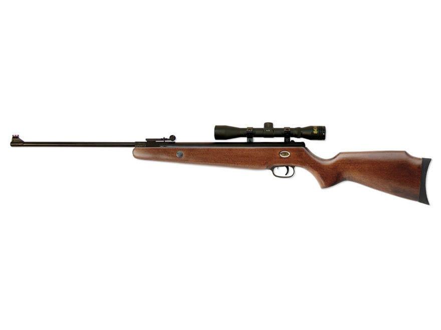 Beeman Teton Air Rifle Pellet European Hardwood Stock Black Barrel with 4x32 Scope