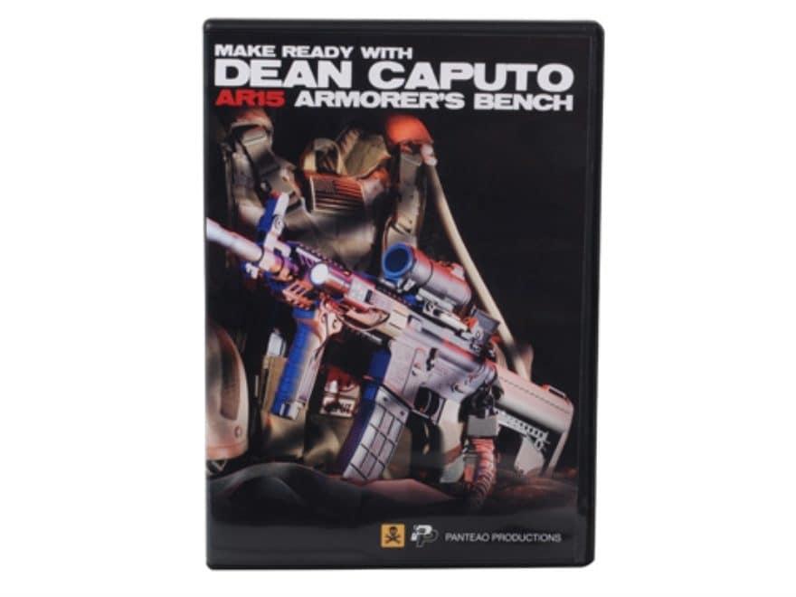 """Panteao """"Make Ready with Dean Caputo: AR-15 Armorer's Bench"""" DVD"""