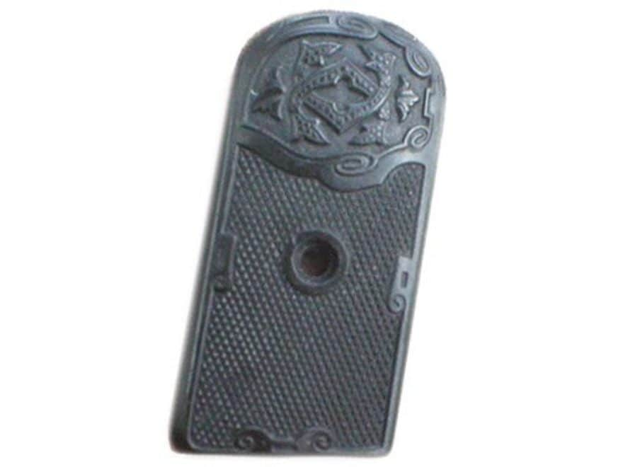 Vintage Gun Grips Clement 1903 5mm 3rd Type Polymer Black