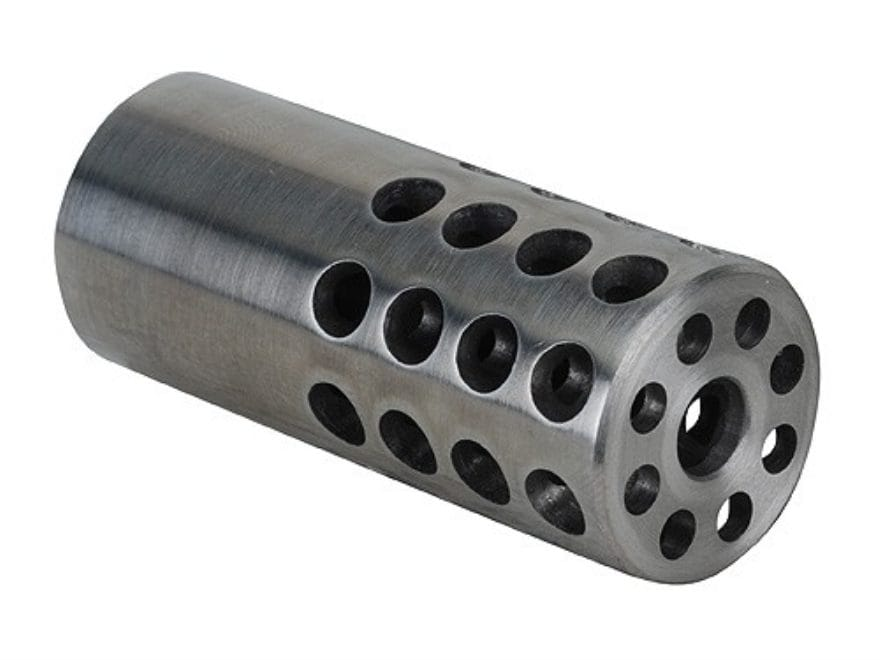 "Vais Muzzle Brake 13/16"" 223 Caliber 5/8""-32 Thread .812"" Outside Diameter x 1.950"" Len..."