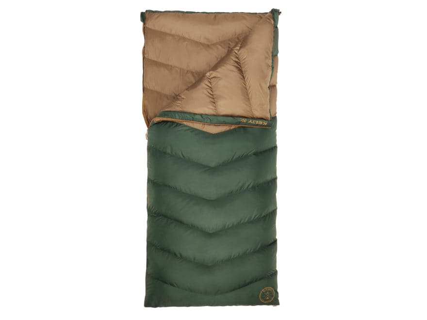 Kelty Galactic 30 Degree Sleeping Bag Polyester Green/Brown