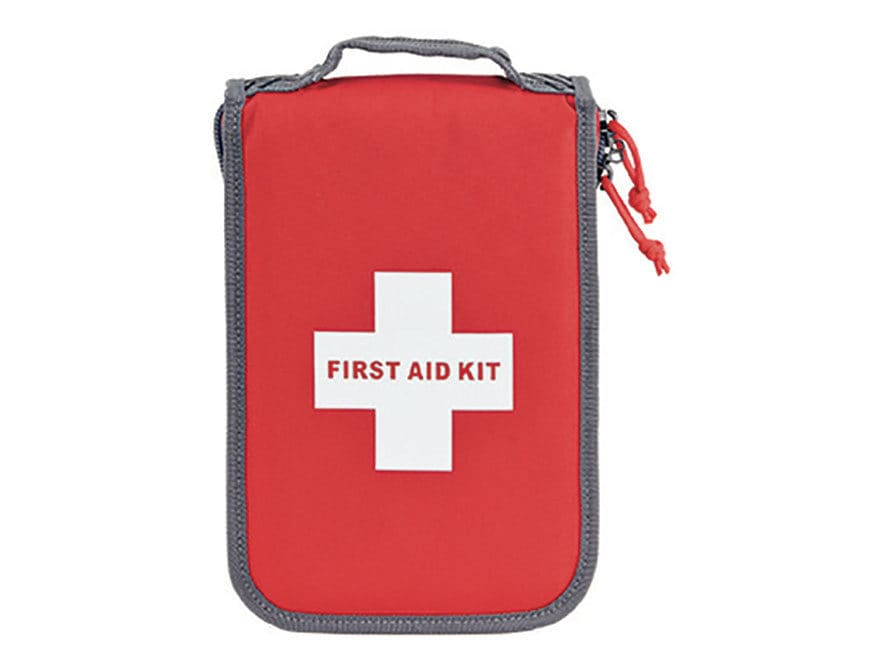 G.P.S. Deceit & Discreet First Aid Kit Pistol Case Red