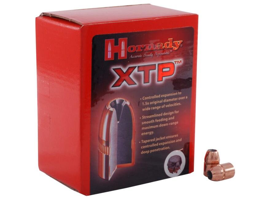 Hornady XTP Bullets 41 Caliber (410 Diameter) 210 Grain Jacketed Hollow Point Box of 100