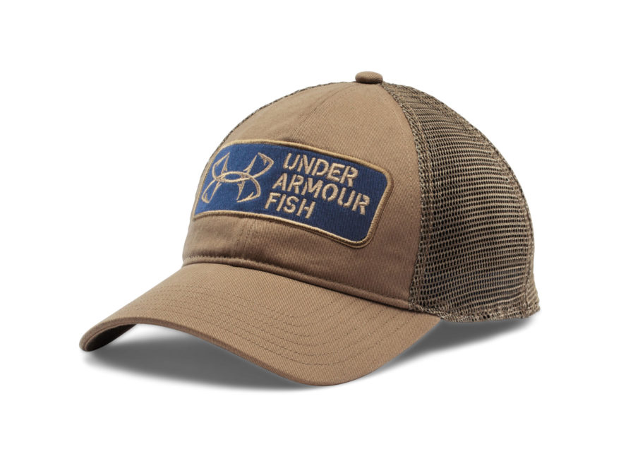 cheap for discount c9598 36961 Under Armour Fish Hook Patch Cap Synthetic Blend Deer Hide