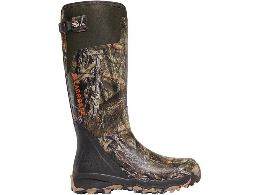 """LaCrosse Alphaburly Pro 18"""" Waterproof Hunting Boots Rubber Clad Neoprene Men's"""
