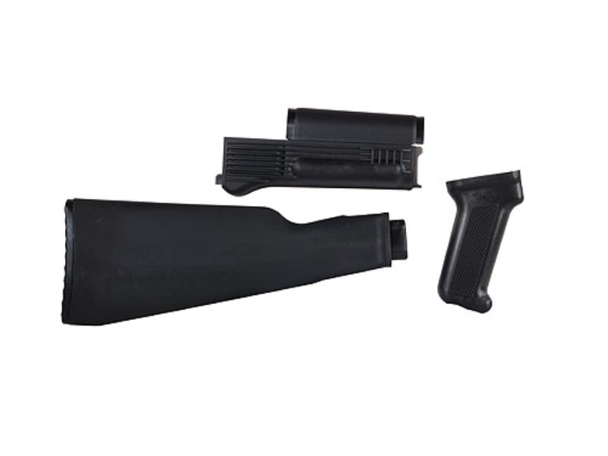Arsenal, Inc. Complete Buttstock and Handguard Set Intermediate Length AK-47 Milled Rec...