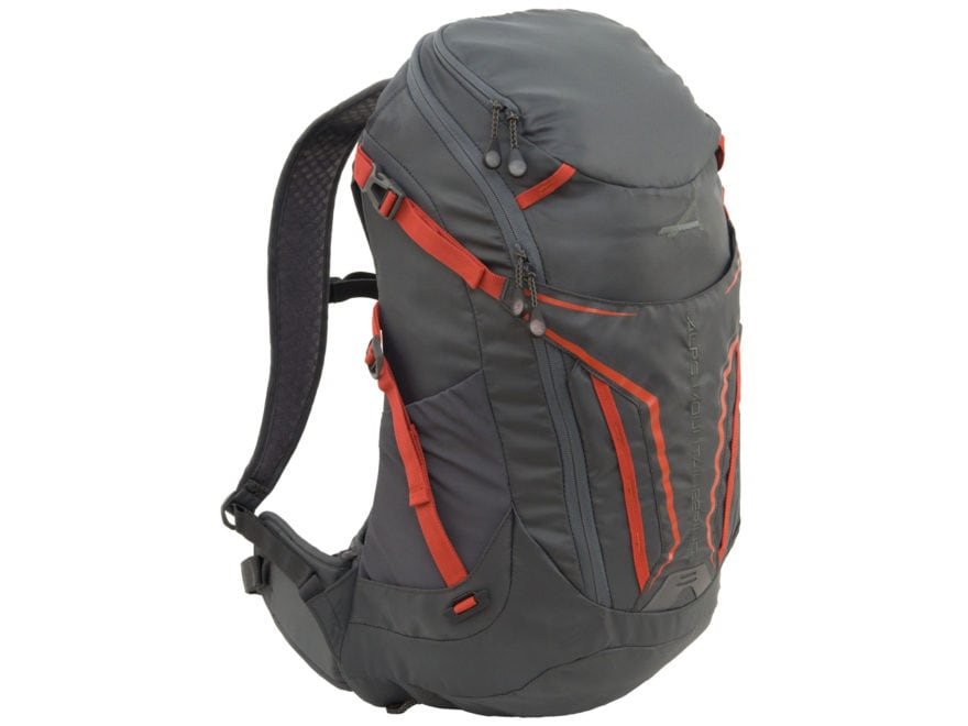 69e78987eaba ALPS Mountaineering Baja 20 Backpack Gray Orange - MPN  6052001