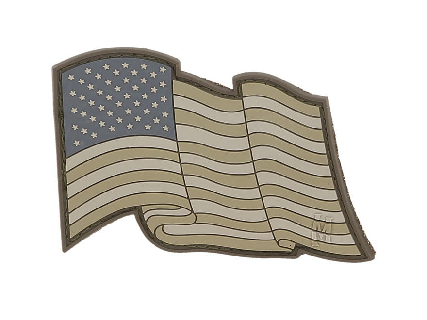 """Maxpedition Star Spangled Banner PVC Morale Patch 3"""" x 2"""""""