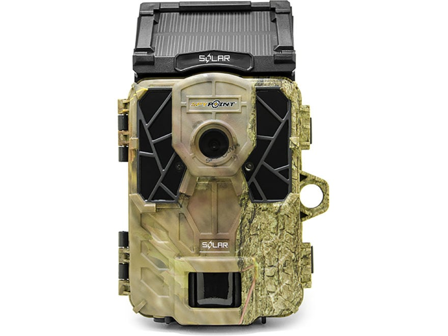 Spypoint Solar HD Infrared Digital Game Camera 12 Megapixel with Color Viewing Screen Camo