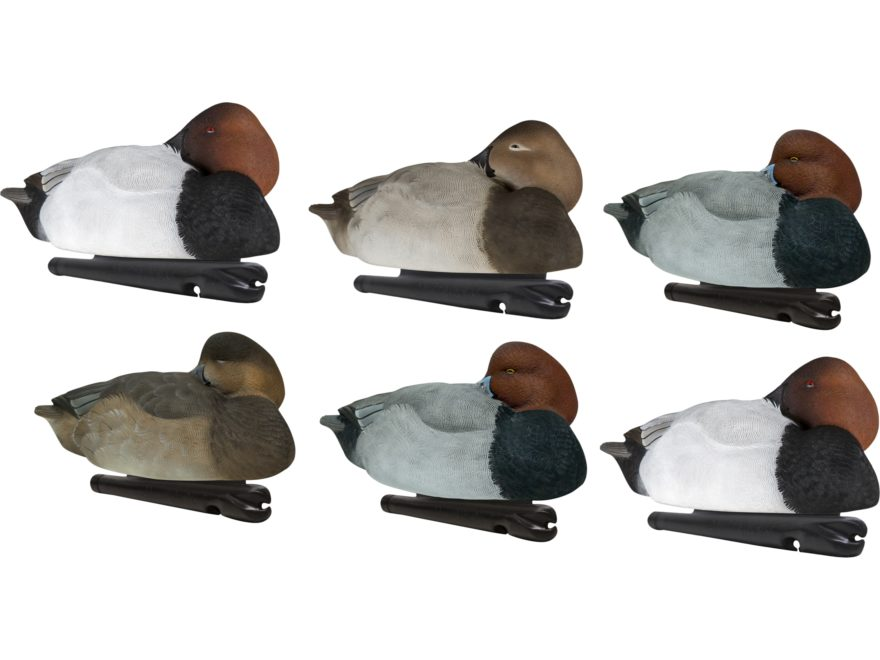 Avian-X Foam Filled Canvasback/Redhead Sleeper Combo Pack Duck Decoy Pack of 6