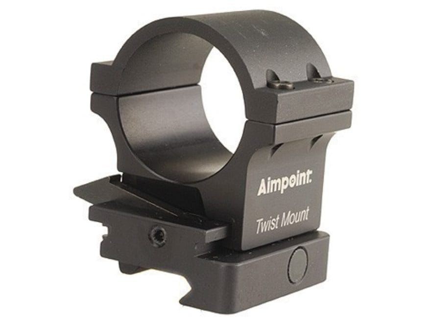 Aimpoint 30mm TwistMount Ring with Integral Picatinny-Style Base for 3x Magnifier Matte...