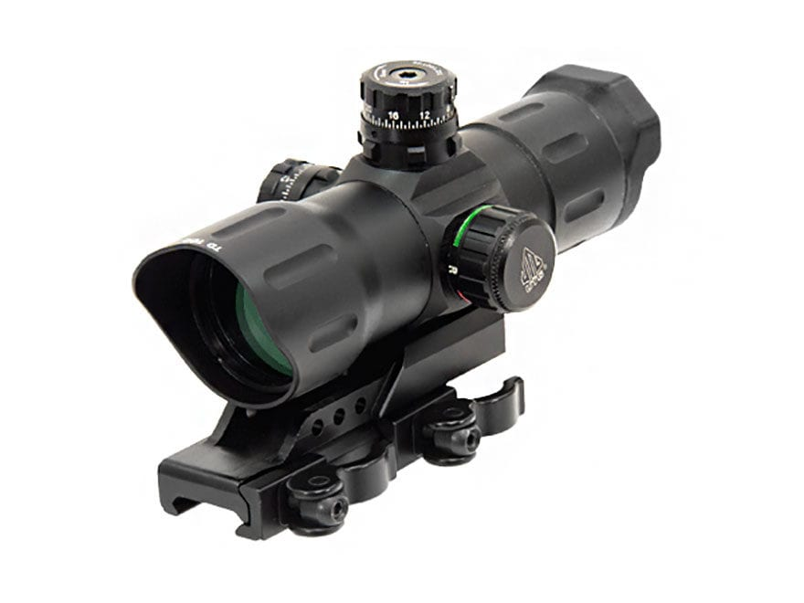 Leapers UTG Red Dot Sight 1x Red and Green Reticle with Quick-Detach Weaver/Picatinny-S...