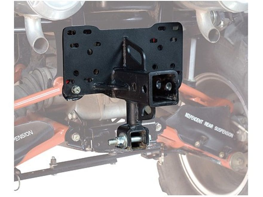 "Kolpin DirtWorks ATV 2"" IRS Receiver Hitch Steel Black"