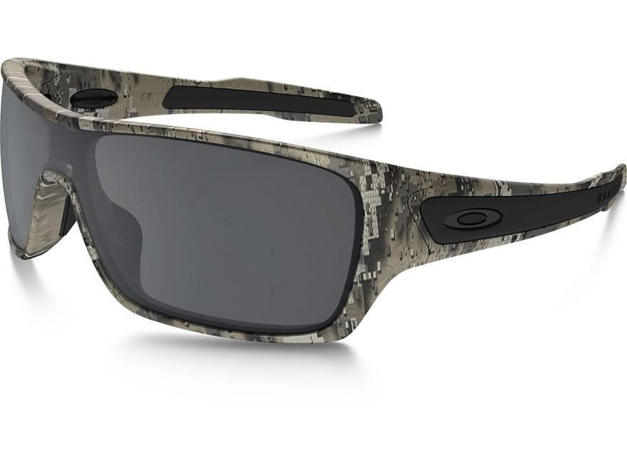 d9ad19353c Oakley SI Turbine Rotor Sunglasses Desolve Bare Camo Black Iridium Lens