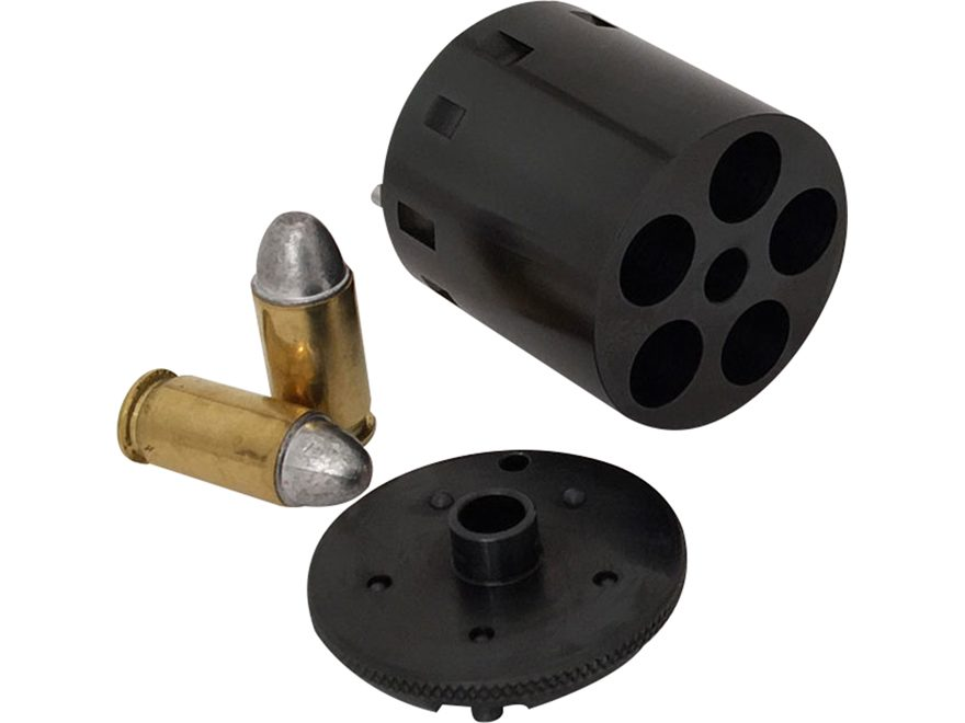 Howell Conversions Cylinder 44 Caliber Pietta 1858 Remington Army Steel Frame Black Pow...