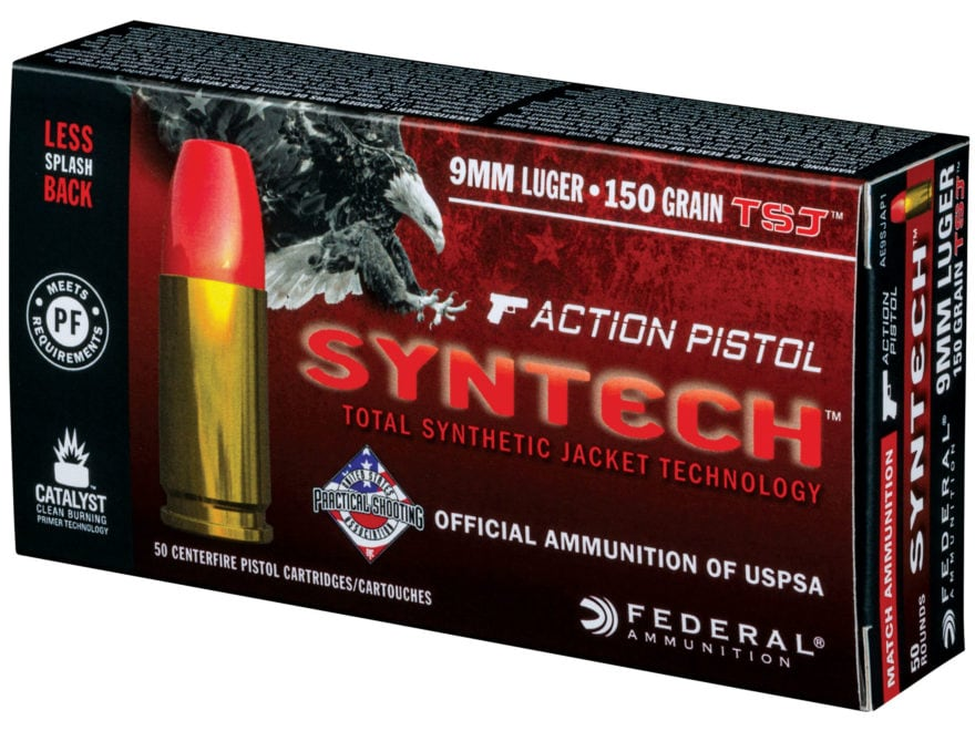 American Eagle Rebate >> Federal American Eagle Syntech Action Pistol Ammo 9mm ...