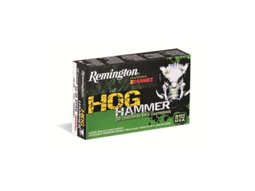 Remington Hog Hammer Ammo 223 Remington 62 Grain Barnes Mpn 27700