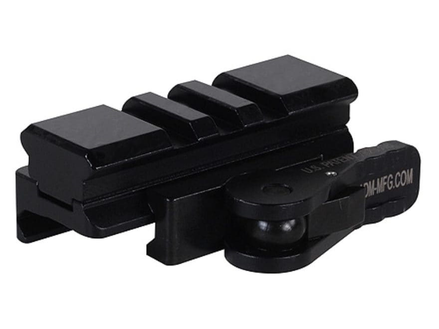 American Defense AD-170-VPG Riser with 3-Lug Rail and Quick-Release Picatinny-Style Mou...