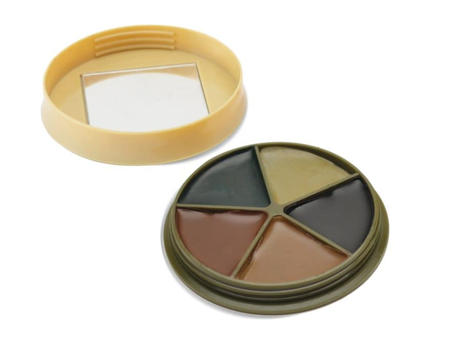HME Camo Face Paint Kit with Mirror