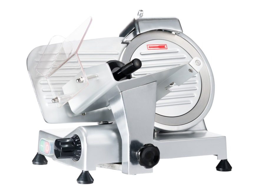 "LEM 8.5"" Professional Electric Meat Slicer Stainless Steel"