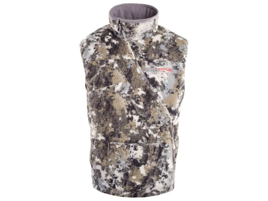 Sitka Gear Men's Fanatic Insulated Vest Polyester Gore Optifade Elevated II Camo