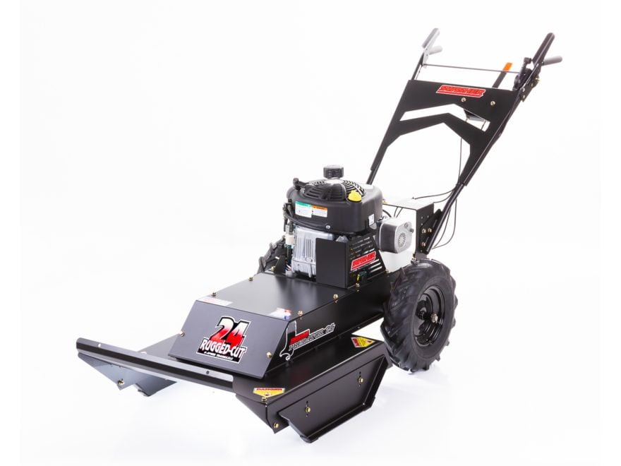 """Swisher Walk Behind Rough Cut Trail Cutter 24"""" with Casters"""