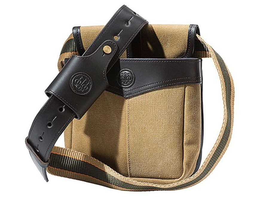 Beretta Terrain Shotgun Shell Pouch Canvas Tan