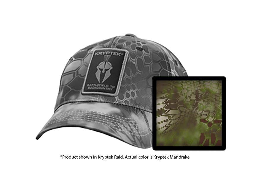 Kryptek Warrior Hat Polyester