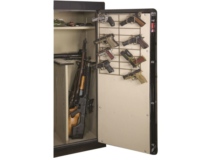 Rack'Em Racks The Maximizer 1/2 Door 8 Pistol Rack Black