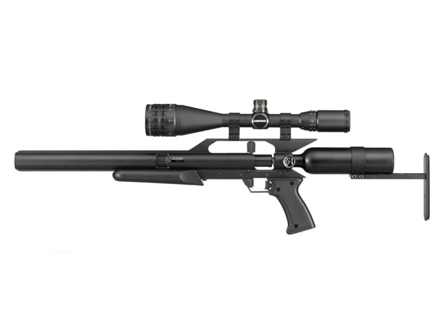 Airforce EscapeSS PCP Air Rifle Black Synthetic Stock Matte Barrel
