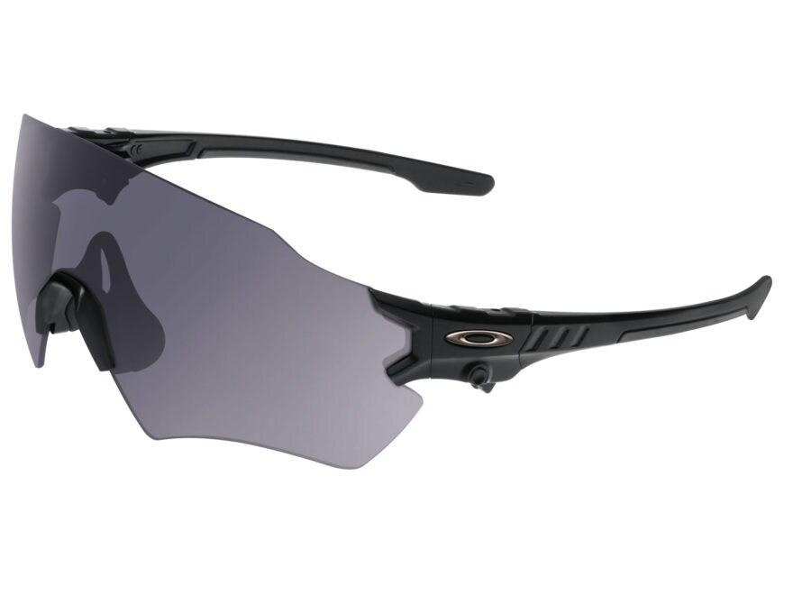 Oakley SI Tombstone Shooting Glasses Matte Black Reap Frame/Gray Lens
