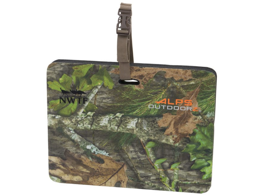ALPS Outdoor NWTF Terrain Seat Mossy Oak Obsession Camo